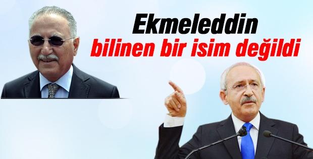 Kılıçdaroğlu'ndan Ekmeleddin İhsanoğlu itirafı!