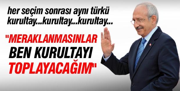 Kılıçdaroğlu'ndan FLAŞ kurultay açıklaması!