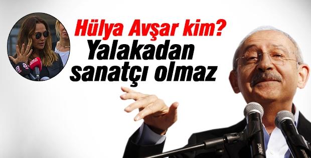 Kılıçdaroğlu'ndan Hülya Avşar'a cevap