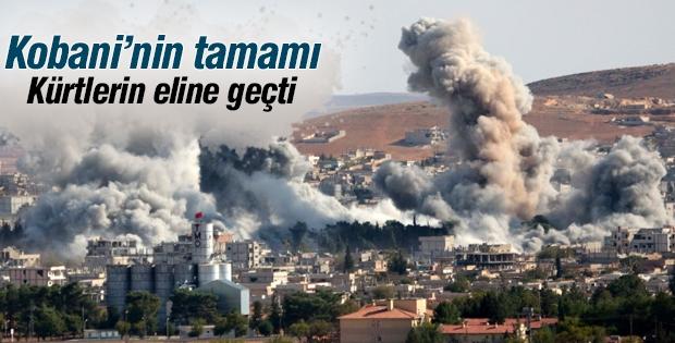 'Kobani Kürt güçlerin eline geçti'