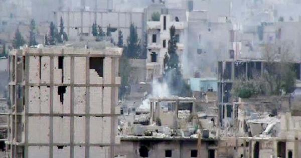 Kobani'de Çatişma Ve Bombardıman Sürüyor
