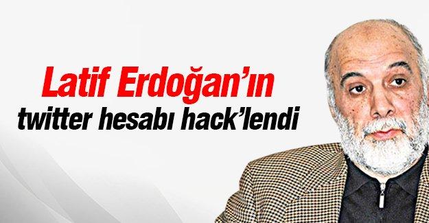 Latif Erdoğan'ın twitter hesabı hack'lendi
