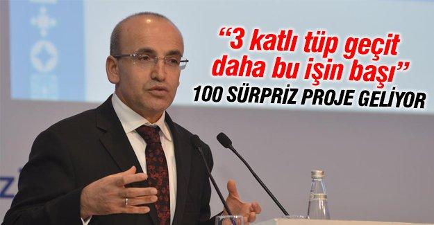 """Maliye Bakanı Şimşek; """"100 tane çok büyük proje açıklanacak"""""""