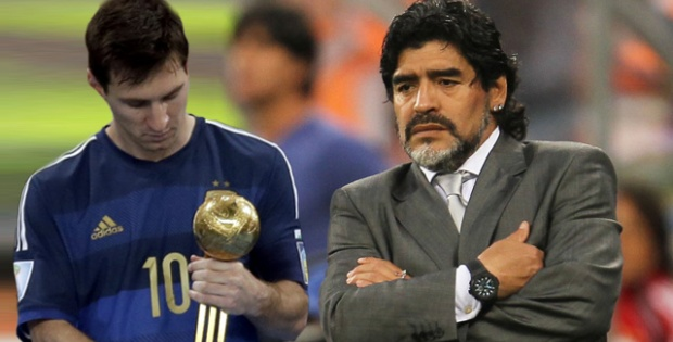 Maradona'dan Messi tepkisi!