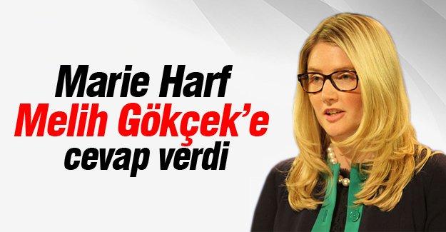 Marie Harf Melih Gökçek'e cevap verdi