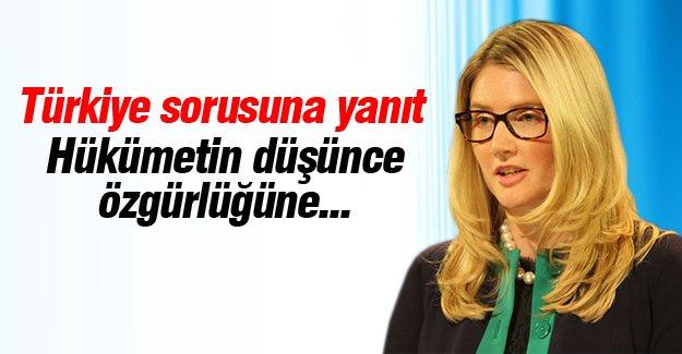Marie Harf'ten Türkiye sorusuna yanıt