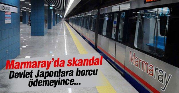 Marmaray'da para skandalı!