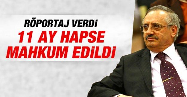MEK Genel Başkanı Halit Esendir'e Hapis Cezası
