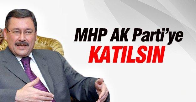 Melih Gökçek: MHP AK Parti'ye katılmalı