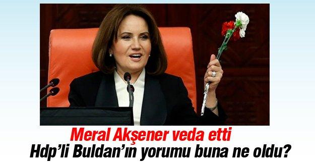 Meral Akşener'in vedasına Pervin Buldan yorumu