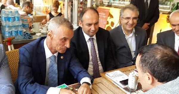 "Mhp Milletvekili Engin Alan, ""hançerdeki Parmak İzleri""ni İmzaladi"