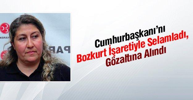 MHP Uşak Merkez İlçe Yönetim Kurulu Üyesi Seher Kayıhan'a Cumhurbaşkanı'na hakaretten gözaltı