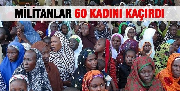 Militanlar 60 Kadını Kaçırdı