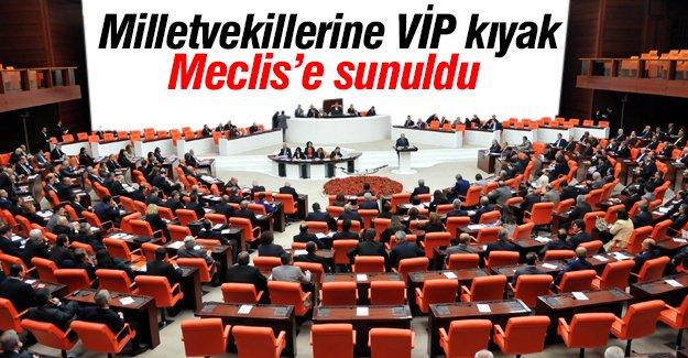 Milletvekillerine VİP kıyak Meclis'te