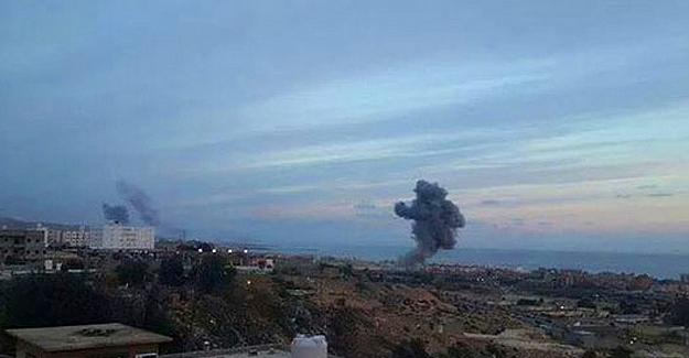 Mısır Libya'daki IŞİD hedeflerine hava saldırısı başlattı