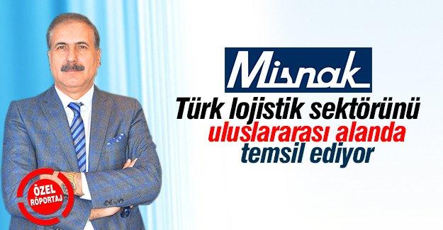 Misnak,Türk lojistik sektörünü uluslararası alanda temsil ediyor