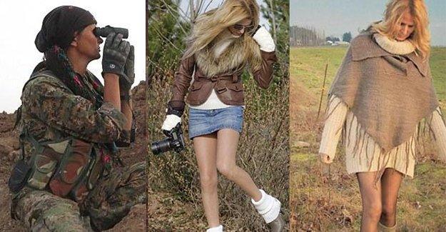 Modeldi YPG'li olup IŞİD'le savaştı
