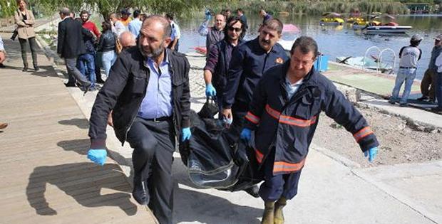 Mogan Gölü'nden erkek cesedi çıktı