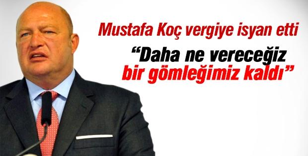 Mustafa Koç: Daha ne vereceğiz, bir gömleğimiz kaldı
