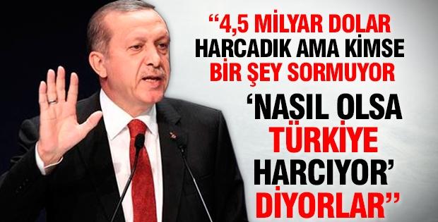 Nasıl olsa 'Türkiye harcıyor' diyorlar