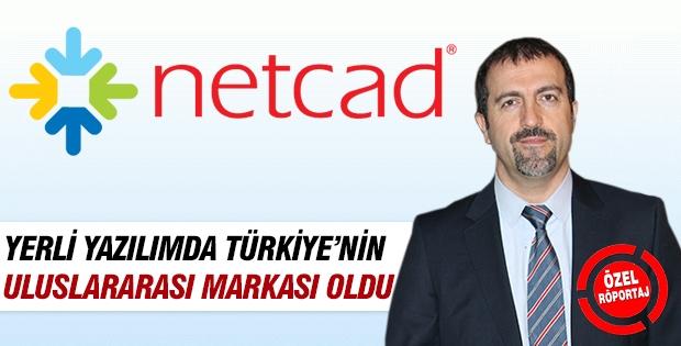 Netcad yerli yazılımda Türkiye'nin uluslararası markası oldu