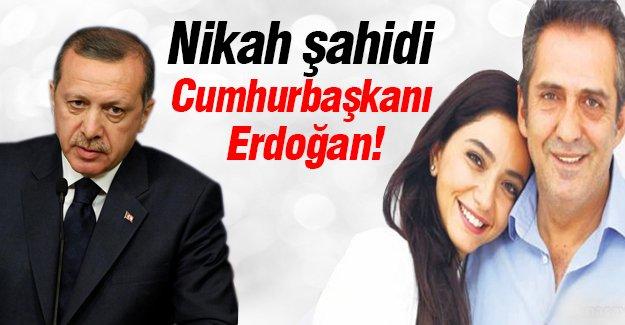 Nikah şahidi Cumhurbaşkanı Erdoğan!