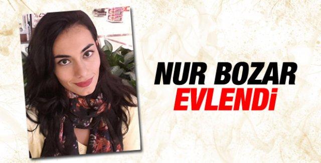 Nur Bozar, Gökhan Şener ile evlendi
