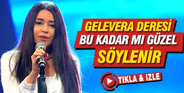 O Ses Türkiye'de Berfin Gelevera Deresi ile jüriyi coşturdu