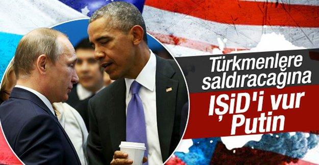 Obama'dan Putin'e IŞİD uyarısı