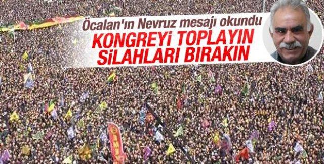 Öcalan'dan Nevruz mesajı