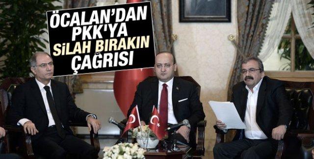 Öcalan'dan PKK'ya silahlara veda çağrısı