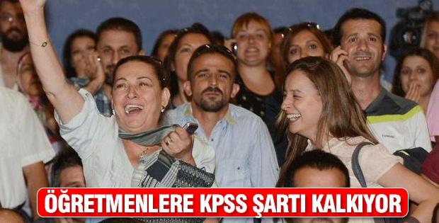 Öğretmenlere KPSS şartı kalkıyor