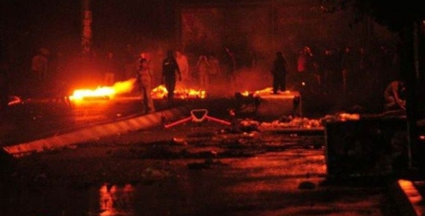 Okmeydanı'nda Gerginlik: Bir Gösterici, Polislere Doğru Silahla Ateş Etti