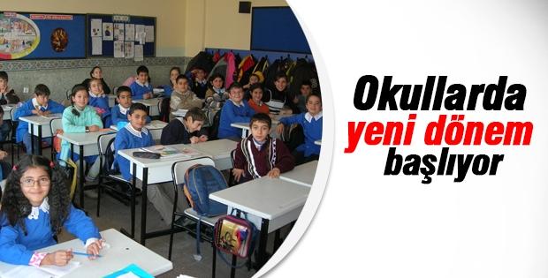 Okullar da yeni dönem başlıyor!