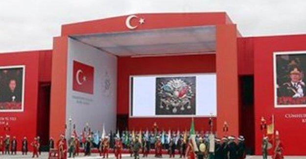 Osmanlı arması Hürriyet'i rahatsız etti