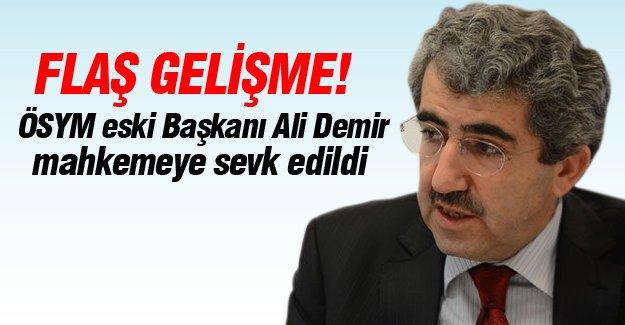 ÖSYM eski Başkanı Ali Demir'e yurtdışı yasağı