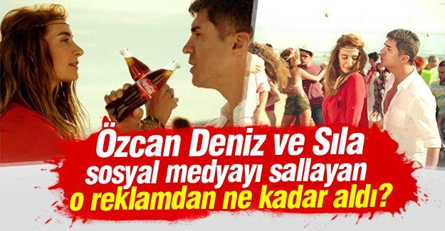 Özcan Deniz ile Sıla o reklamdan ne kadar aldı