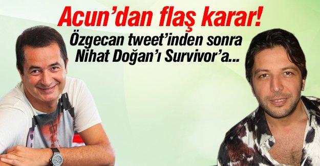 Özgecan tweet'inden sonra Nihat Survivor'dan alındı mı?