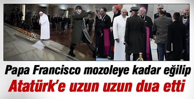 Papa Francisco Türkiye'ye geldi