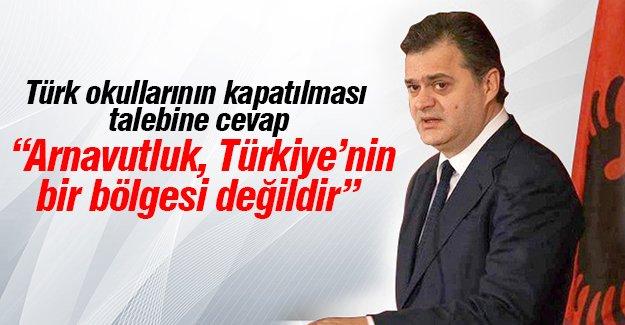 """""""Paralel devlet yapılanmasına yüz vermeyin"""" diyen Erdoğan'a Arnavut siyasetçilerden tepki"""