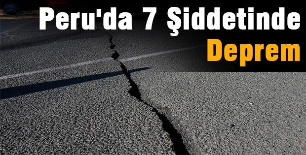 Peru'da 7 Şiddetinde Deprem
