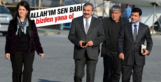 Pervin Buldan: Allah'ım sen bari süreçten yana ol!