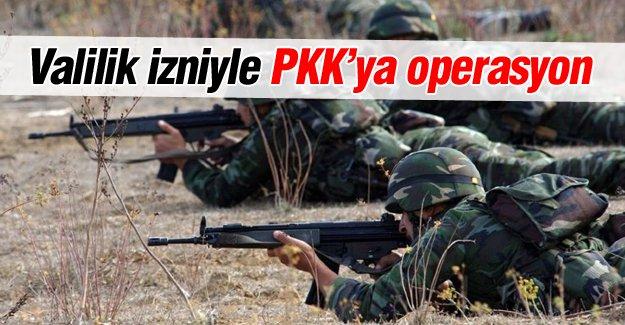 PKK'nın barınaklarına operasyon!