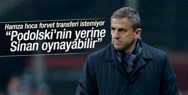 """""""Podolski'nin yerine Sinan oynayabilir"""""""