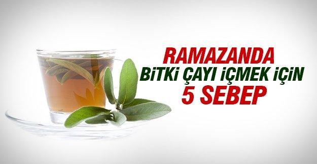 Ramazanda Bitki Çayı İçmek İçin 5 Sebep