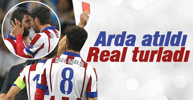 Real Madrid Atletico Madrid'i eledi
