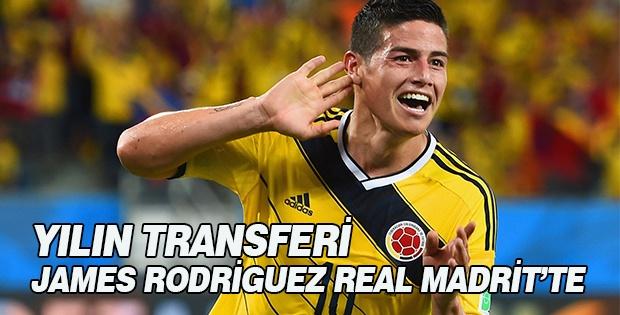 Real Madrid James Rodriguez Transferini Gerçekleştirdi