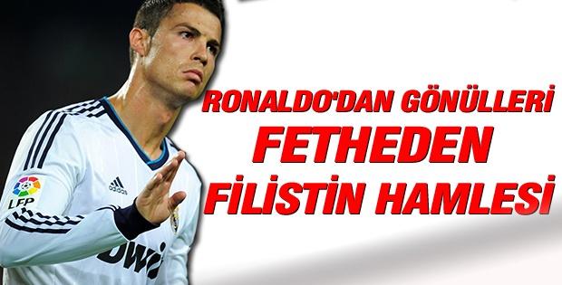 Ronaldo'dan Filistin'e 2 milyon dolar