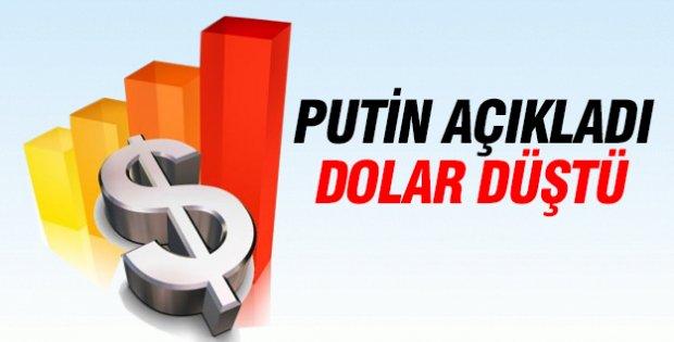 Rusya ateşkesi açıkladı dolar düştü