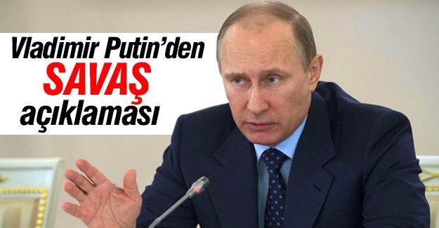 Rusya Devlet Başkanı Putin'den flaş açıklama